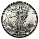 1945 Walking Liberty Half Dollar BU