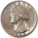 1945 Washington Quarter AU