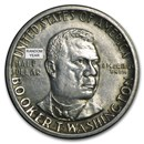 1946-51 P, D, S Booker T. Washington Half (Low Grade/Cleaned/Dmg)