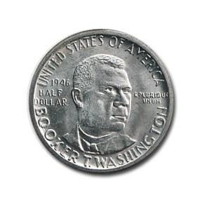 1946 Booker T. Washington Half Dollar MS-60