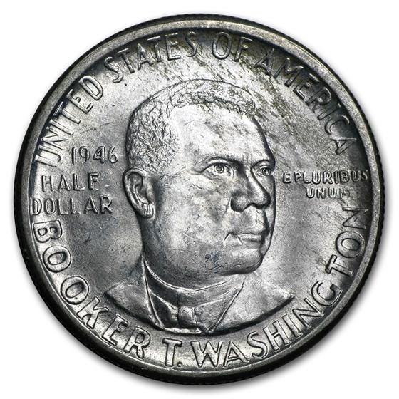 1946-D Booker T. Washington Half BU