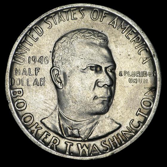 1946-S Booker T. Washington Half Dollar XF