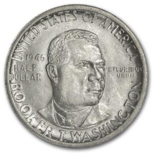 1946-S Booker T. Washington Half MS-63