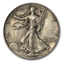 1946 Walking Liberty Half Dollar XF