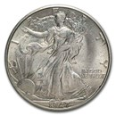 1947-D Walking Liberty Half Dollar Choice BU