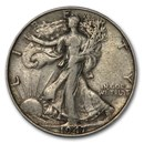 1947 Walking Liberty Half Dollar Fine/VF