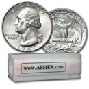 1947 Washington Quarter 40-Coin Roll BU