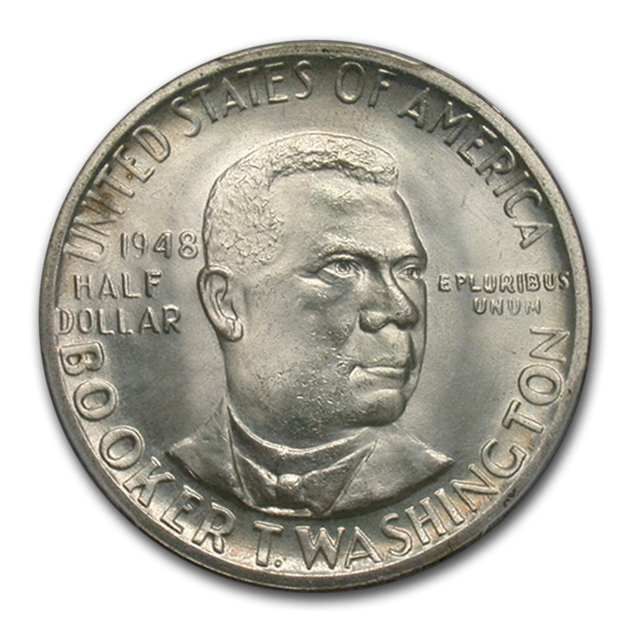1948 Booker T. Washington Half Dollar MS-66 PCGS