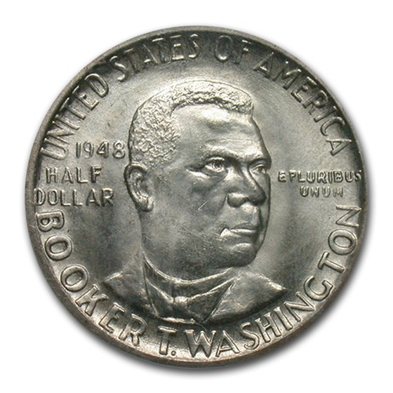 1948-D Booker T. Washington Half Dollar MS-66 PCGS