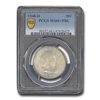 1948-D Franklin Half Dollar MS-66+ PCGS (FBL)