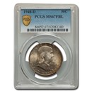 1948-D Franklin Half Dollar MS-67 PCGS (FBL)