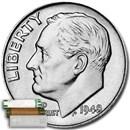 1948-D Roosevelt Dime 50-Coin Roll BU