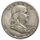 1948 Franklin Half Dollar Fine/XF