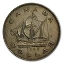 1949 Canada Silver Dollar George VI XF