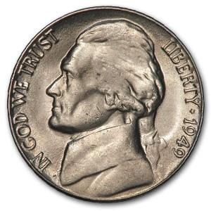 1949-D Jefferson Nickel BU