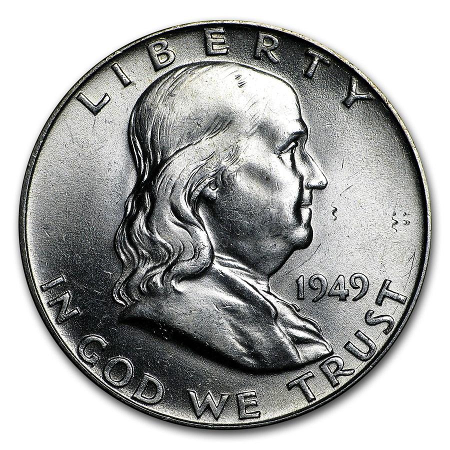 1949 Franklin Half Dollar BU