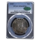 1949 Franklin Half Dollar MS-65 PCGS CAC (FB)