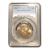 1949 Franklin Half Dollar MS-65 PCGS (FBL)