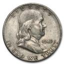 1949-S Franklin Half Dollar Fine/XF