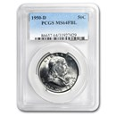 1950-D Franklin Half Dollar MS-64 PCGS (FBL)