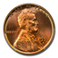1950-D Lincoln Cent MS-67+ PCGS CAC (Red)