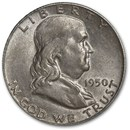 1950 Franklin Half Dollar AU