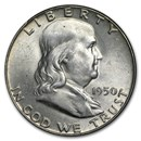 1950 Franklin Half Dollar BU