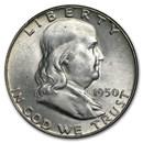 1950 Franklin Half Dollar BU