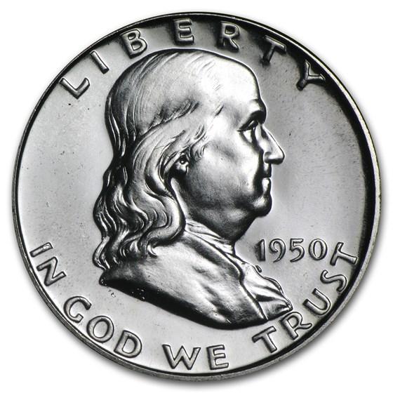 1950 Franklin Half Dollar Proof
