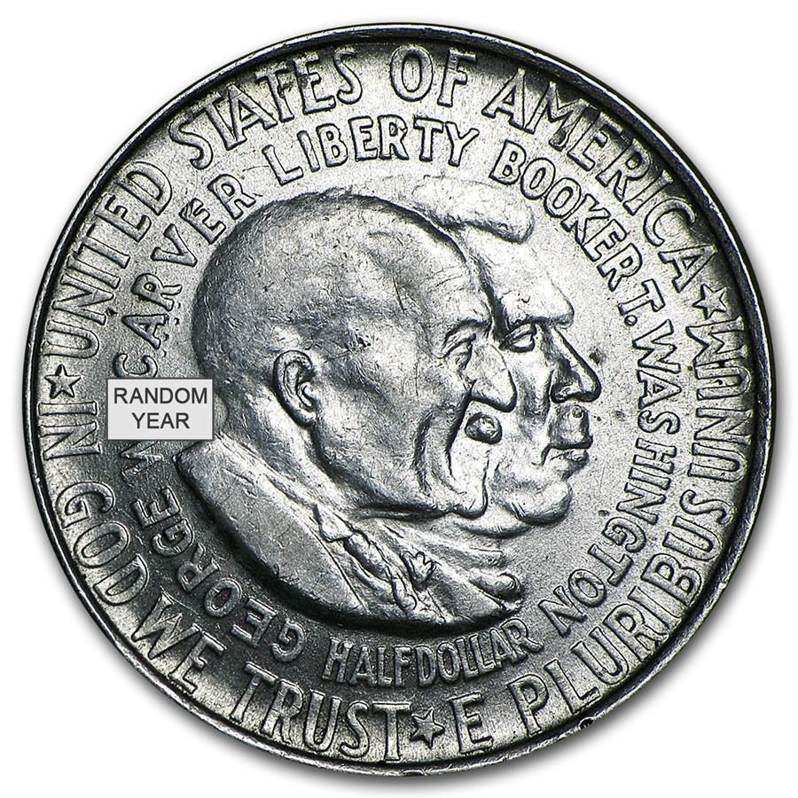 1951-54 P, D, or S Washington-Carver Half Dollar Commem Avg Circ