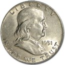 1951-D Franklin Half Dollar AU
