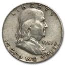 1951-D Franklin Half Dollar Fine/XF