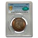 1951 Franklin Half Dollar Mint State-66+ PCGS CAC (FBL, Plus)