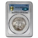 1951 Franklin Half Dollar MS-67+ PCGS CAC