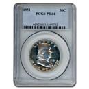 1951 Franklin Half Dollar PR-64 PCGS
