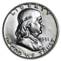 1951 Franklin Half Dollar Proof