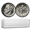 1951-S Roosevelt Dime 50-Coin Roll BU