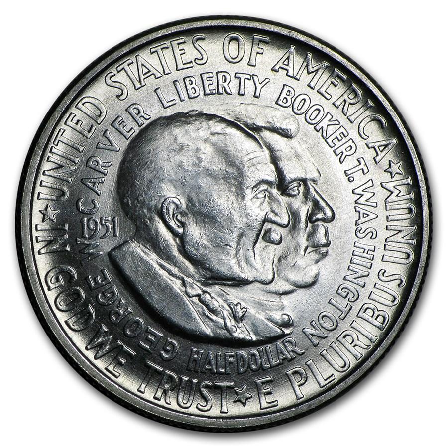 1951 Washington-Carver Half Dollar BU