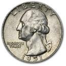 1951 Washington Quarter AU