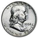 1952-D Franklin Half Dollar AU