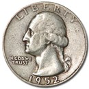1952-D Washington Quarter VG/XF