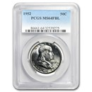 1952 Franklin Half Dollar MS-64 PCGS (FBL)