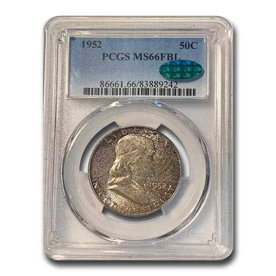 1952 Franklin Half Dollar MS-66 PCGS CAC (FBL)