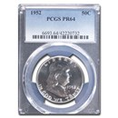 1952 Franklin Half Dollar PR-64 PCGS