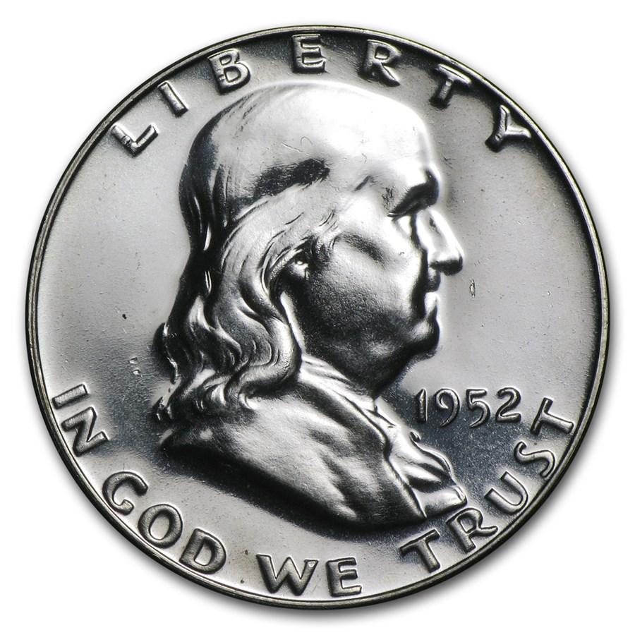 1952 Franklin Half Dollar Proof