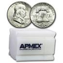 1952-S Franklin Half Dollar 20-Coin Roll BU