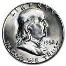 1952-S Franklin Half Dollar BU