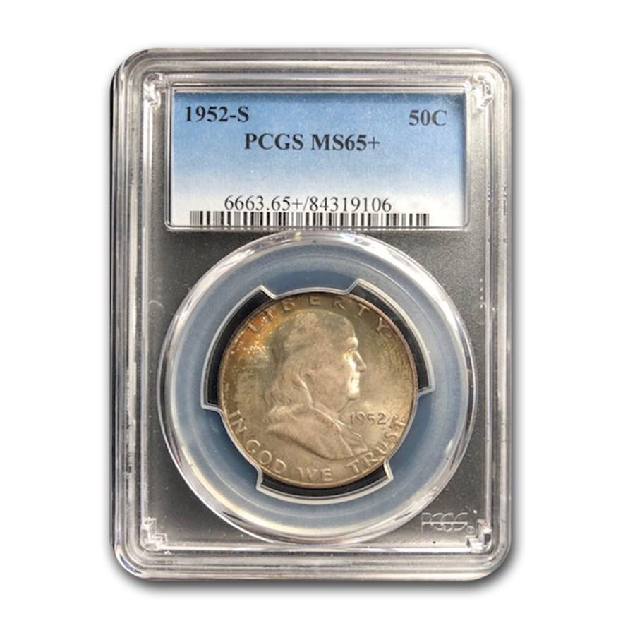 1952-S Franklin Half Dollar MS-65+ PCGS