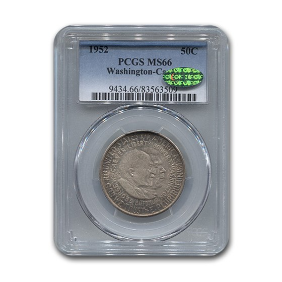 1952 Washington-Carver Half MS-66 PCGS CAC