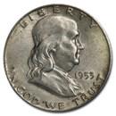 1953-D Franklin Half Dollar Fine/XF
